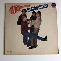 The Monkees Headquarters Vinyl LP Record Album 1st Edition Original 1967 Release