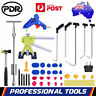 PDR Paintless Dent Removal Push Rod Puller Lifter Slide Hammer Repair Tools Kits