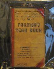 Farmer's Year Book Antique Relic 1955