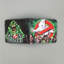 Movie Ghostbusters Logo wallets Purse Multi-Color 12cm Leather Man women New