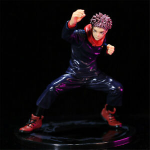 Jujutsu Kaisen Yuji Itadori Anime 17cm Action Figure Collection Toy Kids Gift