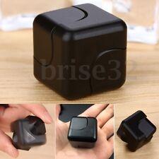 Aluminum Cube Hand Spinner Square Fidget Toy Finger Toy EDC Focus ADHD Autism
