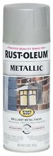 7277830 Stops Rust Metallic Spray Paint, 11 Oz , Niquel Mate