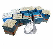 10 x Osram A1/231 Halogen Lamp with Reflector MR16 64627 HLX EFP GZ6.35 12v 100w