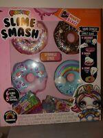 Poopsie Slime Smash Sprinkle Spree with Crunchy Glitter Slime & 4 Donut Cases