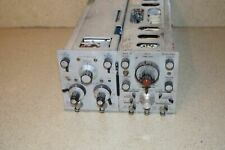 Hp 1808a Dual Channel Vertical Amplifier1821a Time Base Delay Generator Il