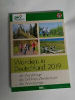 Wandern in Deutschland DVV 2019  Heel Verlag Wanderwege usw