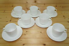 """Johnson Brothers Athena (7) Cups, 2 3/4"""" & (7) Saucers, 5 3/4"""""""