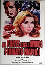 DA PARTE DEGLI AMICI FIRMATO MAFIA - Boisset DVD Yanne Berger Hayden Sbragia