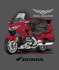 Excel Sportswear Licensed Honda Goldwing T-Shirt Motorcycle Touring Bike