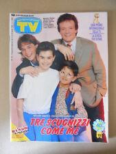 TV SORRISI E CANZONI n°15 1991 Massimo Ranieri Morandi Gabibbo Telegatti [G795]