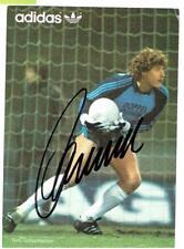 Toni Schumacher  AK adidas   DfB / 1.FC Köln  mit original Unterschrift
