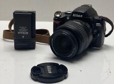 Nikon D40 6.1MP Digital SLR Camera Black Kit w/ AF-S DX 18-55mm Lens
