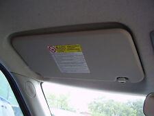 suzuki swift passenger side sun visor, 84802-62J50-6GS