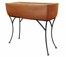 """Rts Elevated Planter w/ Stand Terra Cotta - 36"""" X 15"""