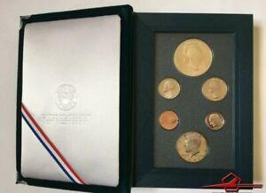 U.S.A 1990 Prestige Set Eisenhower Centennial, 6 Gem Proof Coins U. S. Mint.