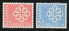 Switzerland 1959 MNH Mi 679-680 Sc 374-375 European Unity.Europa CEPT