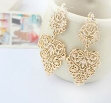 Women Fashion Gold Chandelier Dangle Hook Earrings Gypsy Bohemian Earring