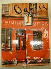 OGUISS Lithographies Tapisseries 1967-86 Catalogo LITO ORIGINALE Ogisu Takanori
