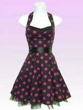 ♡♡Robe Rockabilly H&R LONDON Pois Violet T.16UK=FR42 Fifty's NEUF-MONDIAL RELAY♡