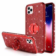 APPLE IPHONE 11 PRO (5.8) Ring Hülle Case Bling Fingerhalter Tasche Handy Rot
