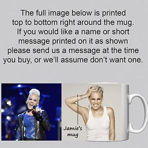 Pink (singer) - Personalised Mug / Cup