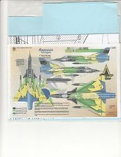 1/32 Decals for Brazilian Air Force Mirages-For Revell Mirage Kit-Beautiful!