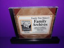Family Tree Maker's Archives Index Griffith's Valuation Of Ireland 1848-1864 Cd