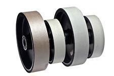 "BUTW 8"" x 2"" wide x 50000 grit diamond soft flex lapidary grinding wheel E"