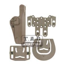 Sepra Level 2 Right Hand Waist Pistol Holster w/STRIKE MOLLE for Colt 1911 M1911