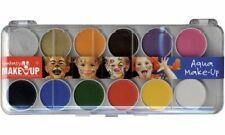KREUL Schminkkasten Fantasy MakeUp 12 Farben Kinderschminke Malkasten Fasching