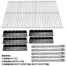 Ducane 30400042 Gas Grill Replacement 5 Burner, Heat Tent & Cooking Grate Kit