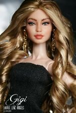 New ListingOoak Repaint Reroot Barbie Fashion Royalty hybrid Gigi Hadid doll Laurie Lenz