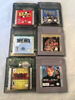 Nintendo Gameboy & Gameboy Color Lot Of 6 Games Mickey Yugioh Shrek Home Alone