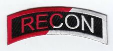 """Recon 4.5"""" rocker tab patch embroidered"""