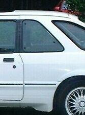 1988 MERCURY MERKUR XR4Ti FORDWARD MOVEABLE LEFT DRIVER QUARTER GLASS WINDOW
