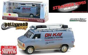 Greenlight #86560 Home Alone OH-KAY 1986 Dodge RAM Van 1:43 Macaulay Culkin