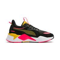 Puma Women's RS-X Reinvent Puma Black/Sulfur Sneakers 37100802 NEW!