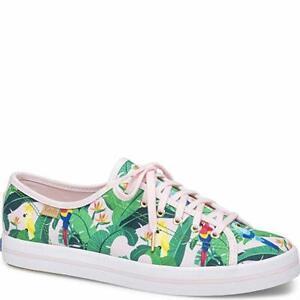 Keds Women's Kickstart Sunnylife Birds Fashion Sneaker, Pink Multi