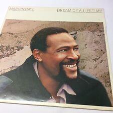 "Marvin Gaye 'Dream of a Lifetime' EX/VG+ CBS TR-808 Vinyl LP 12"""