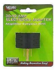 Valterra A10-0014VP Mighty Cord RV 30AF-15AM Adapter Plug