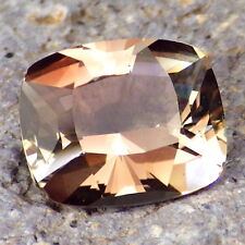 PEACHY-PINK-GREEN OREGON SUNSTONE 2.74Ct FLAWLESS-PERFECT FOR HIGH-END JEWELRY!!