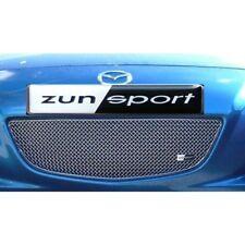 Zunsport Polished silver front upper grille Mazda RX-8