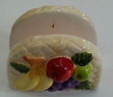 portatovaglioli frutta in ceramica casa ristorante bar divertenti