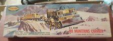 VERY RARE & VINTAGE [1958] AURORA  M8   Munitions Carrier 1/48 + GR8 BOX!!!