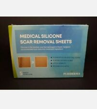 Puriderma Medical Silicone Scar Removal Sheets - Fast & Effective. 5 Sheets
