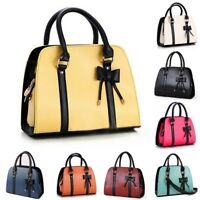 Women Fashion Handbag Shoulder Messenger Bag Bowknot Purse Lady Zipper Totes Bag