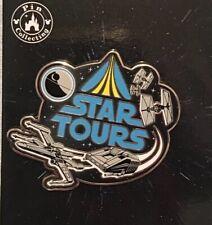 TDL Tokyo Disney Land Star Tours Pin 2019 Star Wars X Wing Darth Star