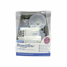 The First Years miPump Breastflow Single Breast Pump with Bottle