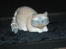 Rare Lladro Nao Zaphir Ceramic Raccoon Animal Figurine